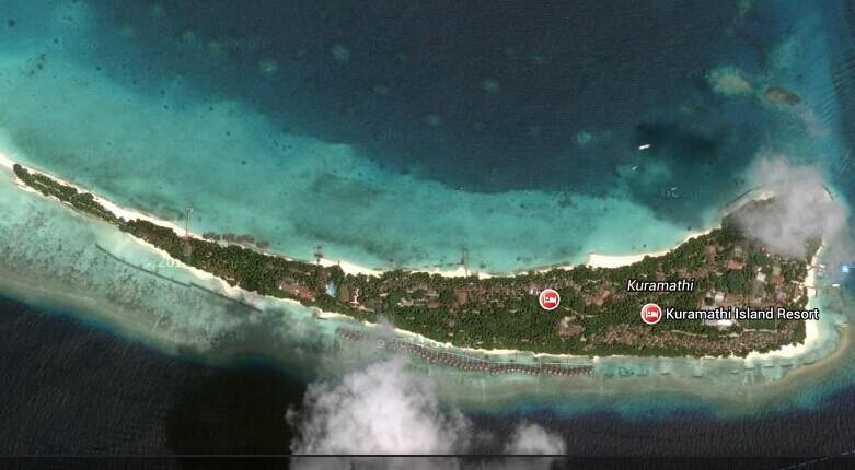 库拉玛蒂岛地图_库拉玛蒂岛酒店分布图-78假期