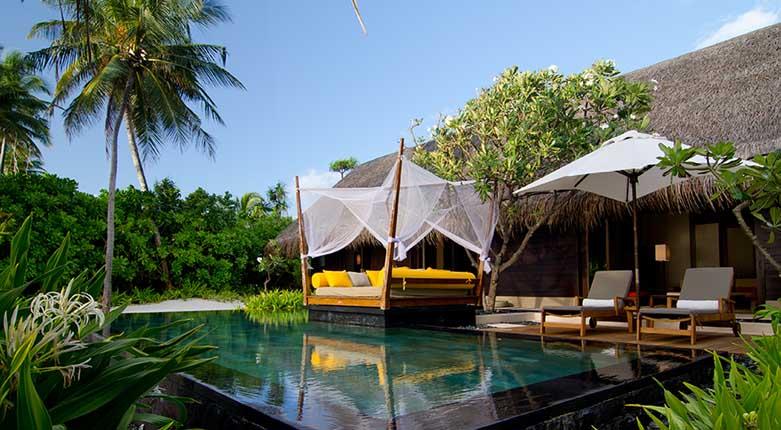 瑞提拉岛a泳池泳池别墅别墅(grandbeachvillawithpool)沙滩堡天鹅永城图片